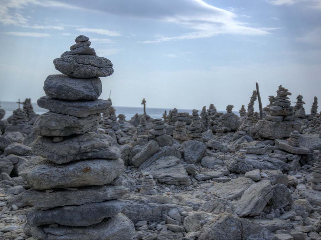 Kornati Pebble Towers © Jason Rogers