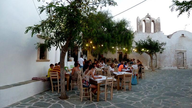 The Chora, Folegandros ©Kostas Limitsios